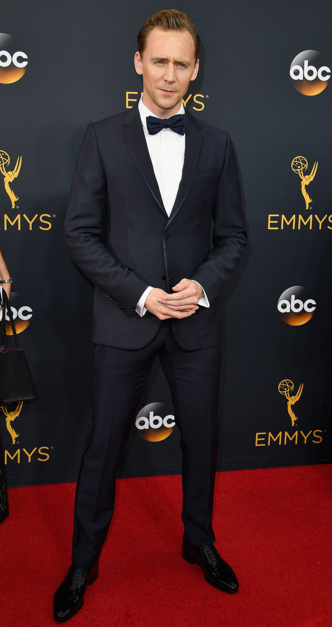 LOS ANGELES, CA - SEPTEMBER 18: Actor Tom Hiddleston attends the 68th Annual Primetime Emmy Awards at Microsoft Theater on September 18, 2016 in Los Angeles, California. (Photo by Steve Granitz/WireImage)